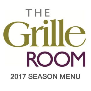 GRoom 2017 Season Menu